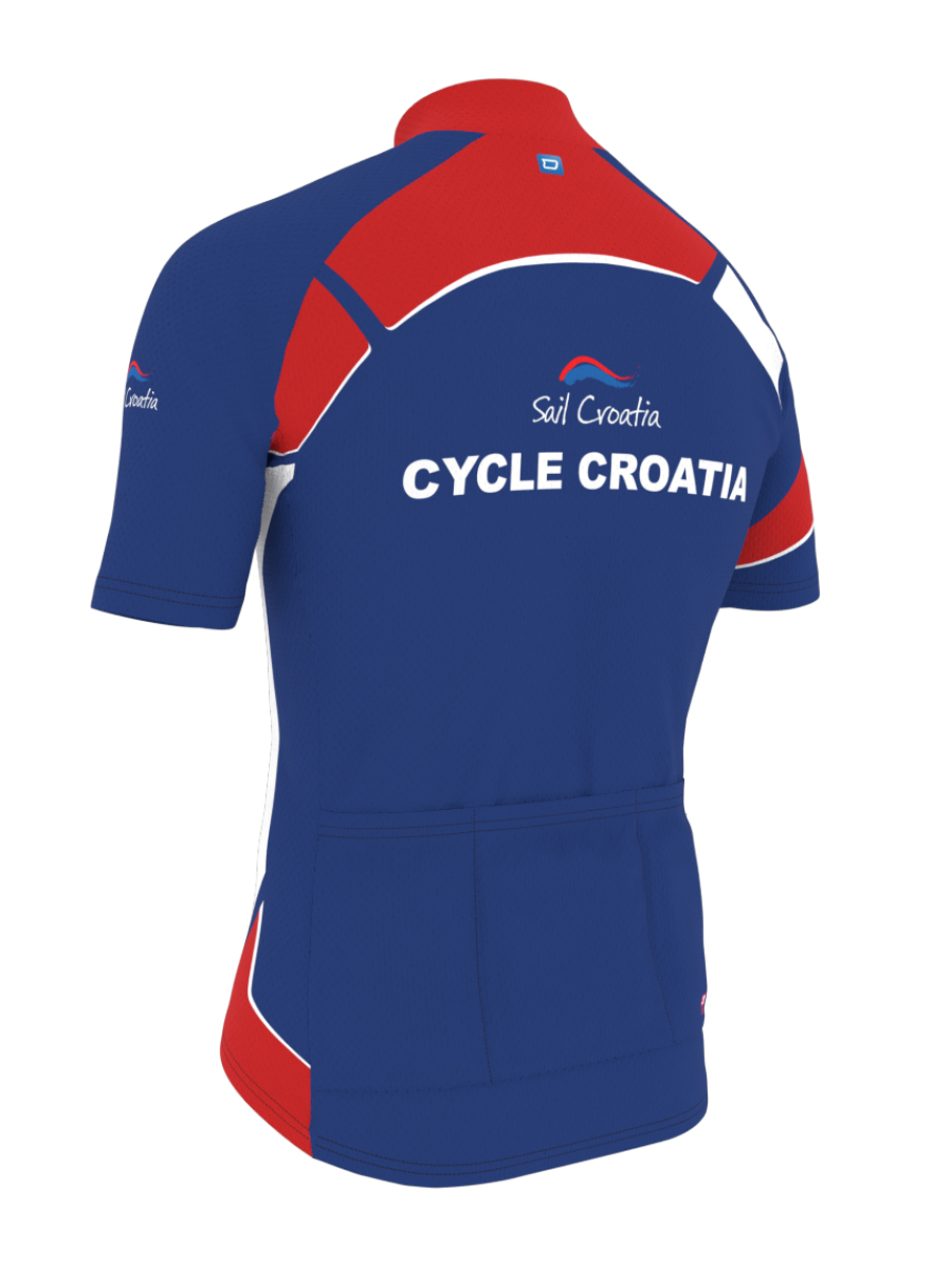 Cycle Jersey - Back Right
