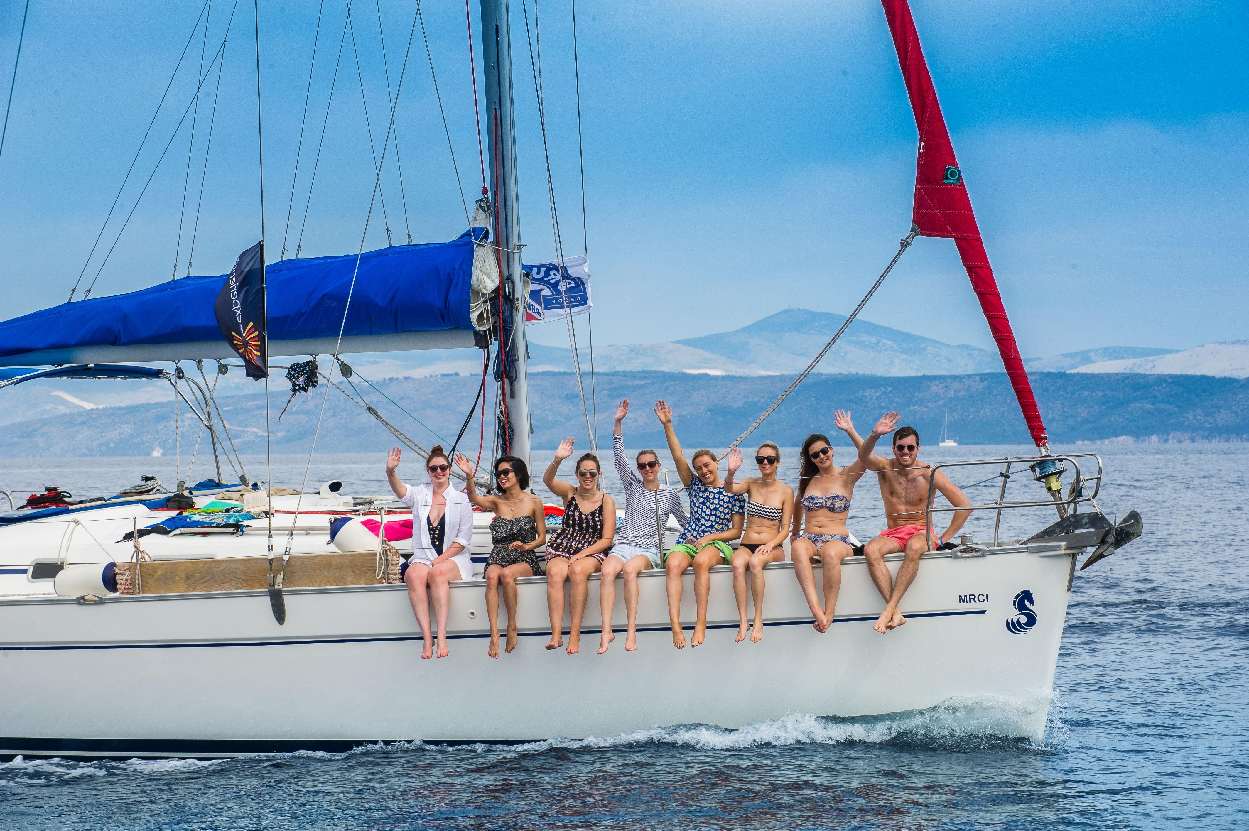 croatia yacht tours sail croatia party flotilla for under 35 u0027s