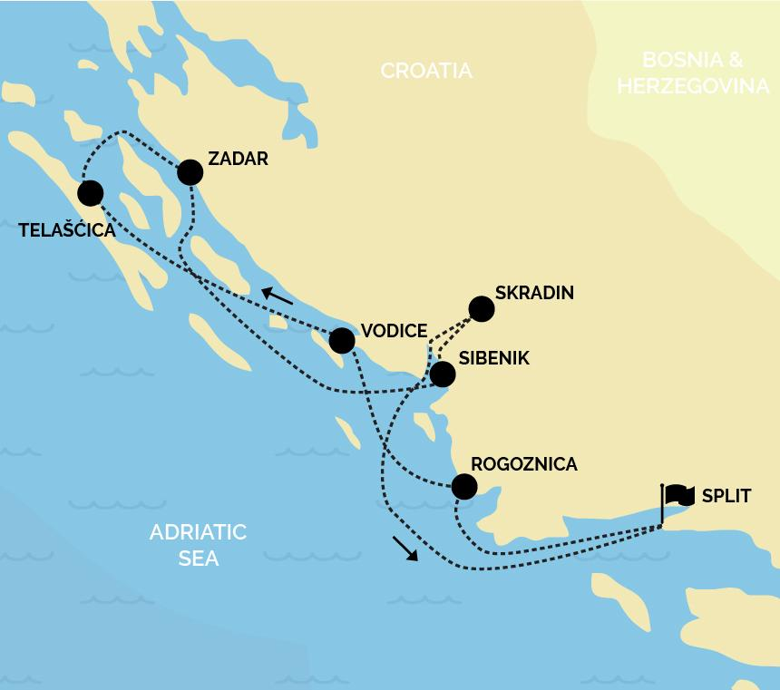 Cycle Croatia Cruises | 7 Day Cycle Cruises 2019 & 2020