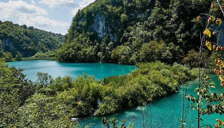 Two Plitvice Lakes