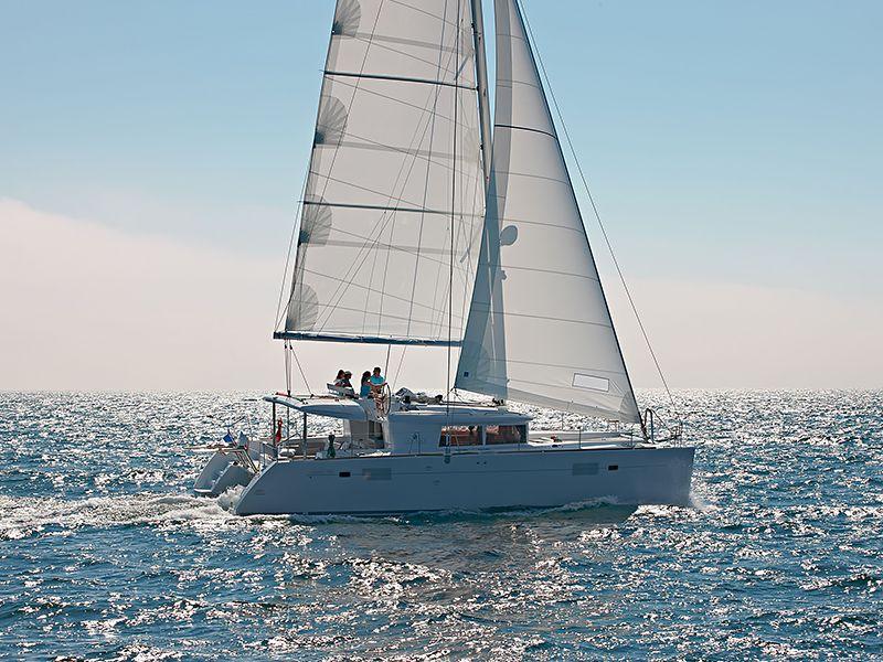 Lagoon 450 Flybridge (Dragonfly) Catamaran Charter in Croatia (ACI